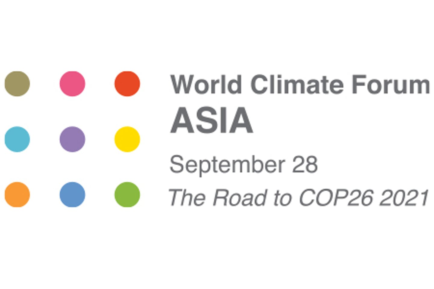 World Climate Forum 2021 Asia