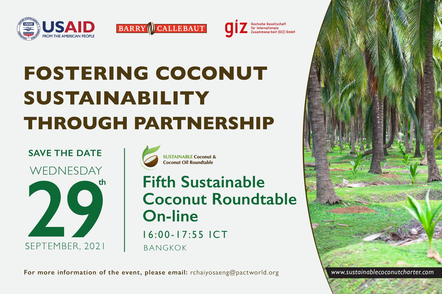 5th Sustainable Coconut Roundtable