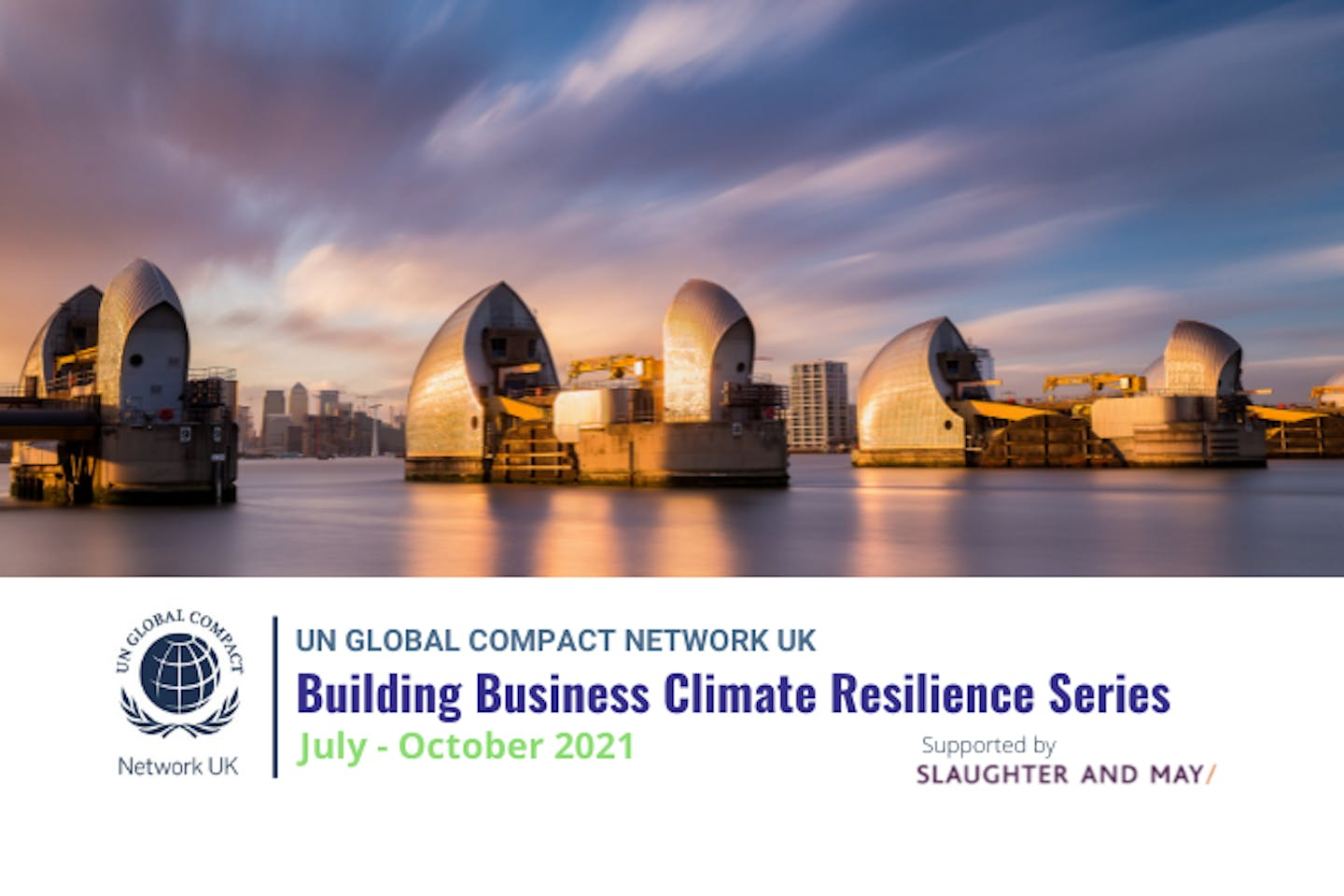 'Building business climate resilience' webinar series