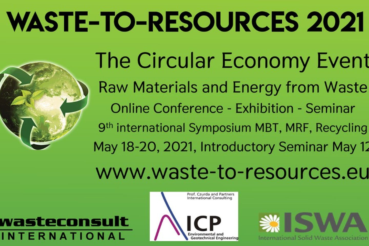 Waste-to-resources 2021: The circular economy event