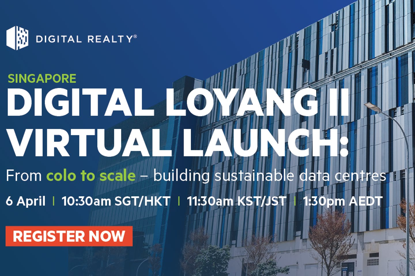 Digital Loyang II (SIN12) Virtual Launch: Building sustainable data centres