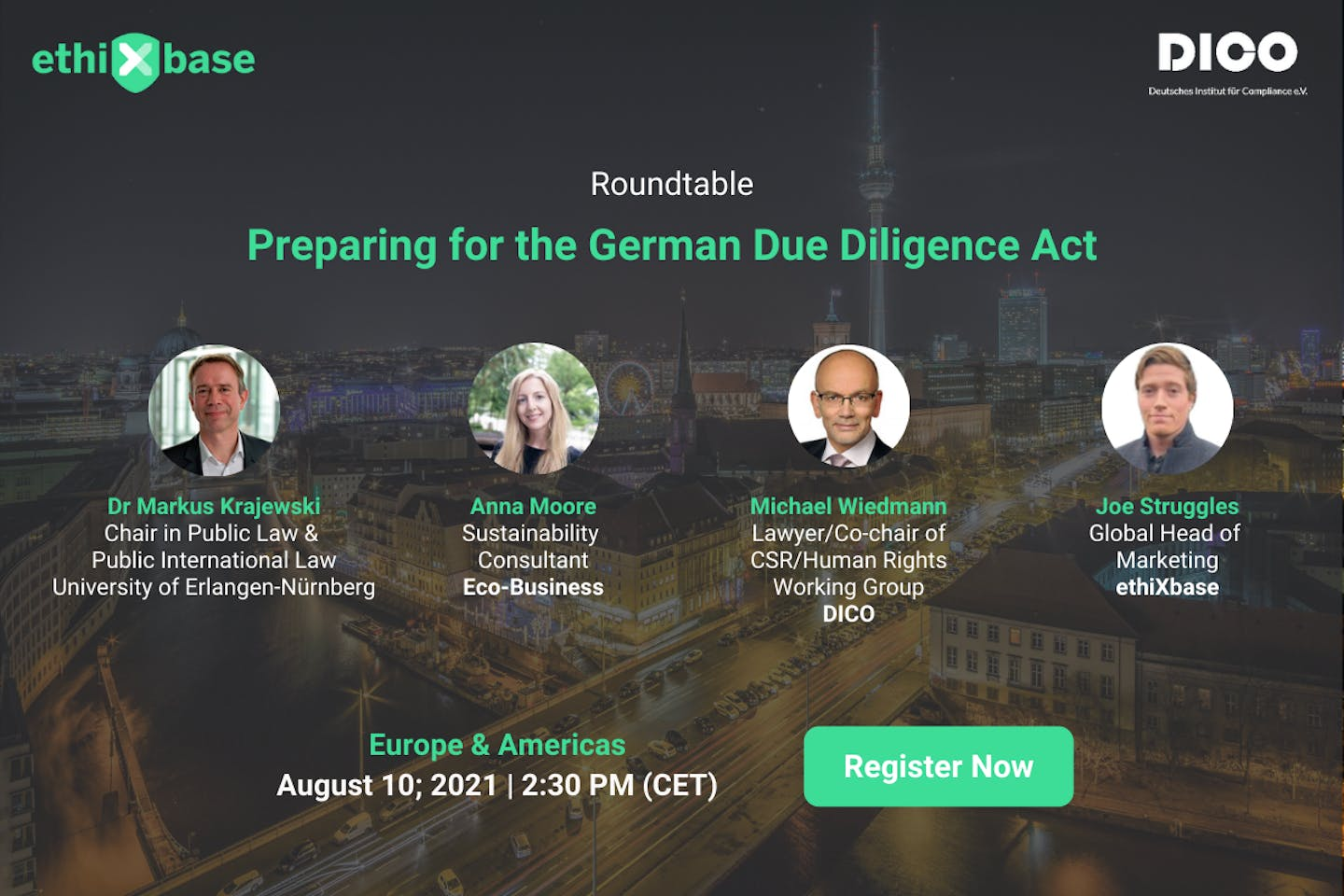 Roundtable: Preparing for the German due diligence act