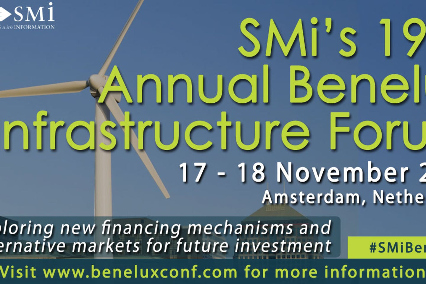SMi's 19th Annual Benelux Infrastructure Forum