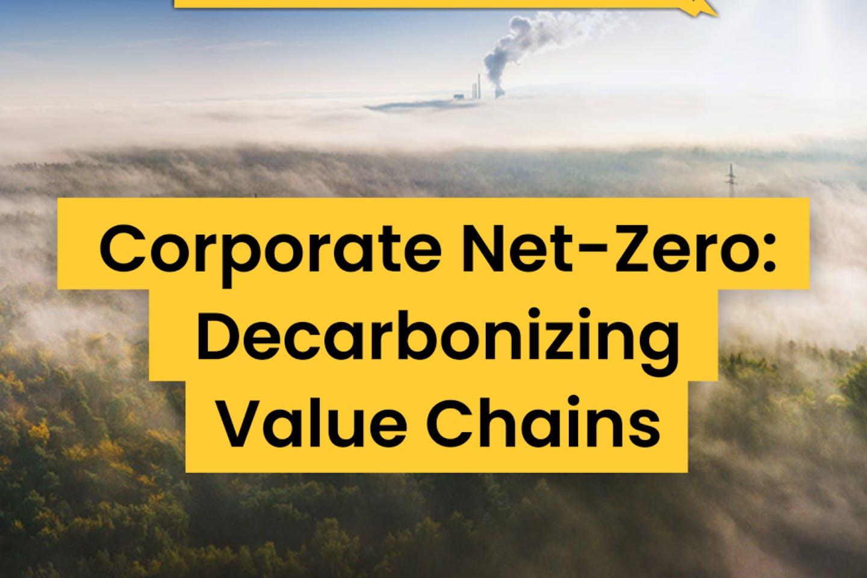 Corporate net-zero: decarbonising value chains