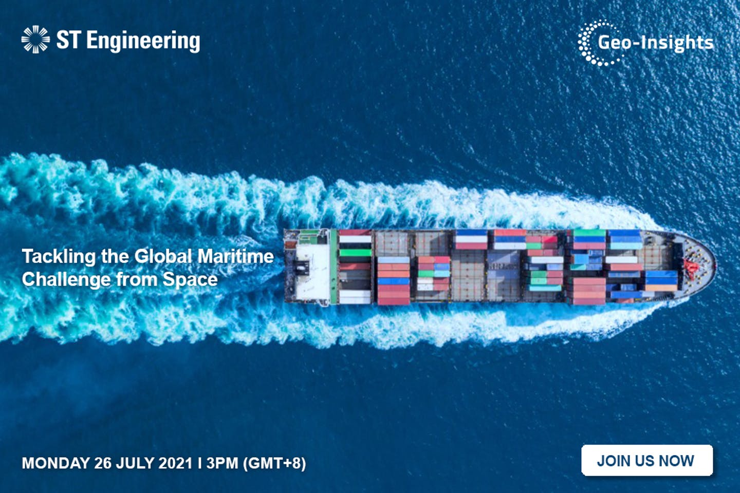 Tackling the global maritime challenge from space