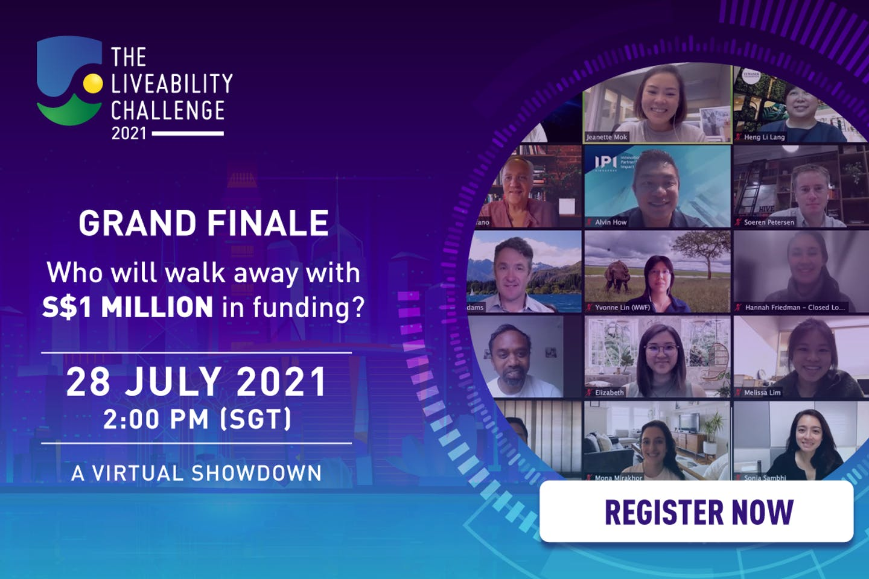 The Liveability Challenge 2021 Grand Finale