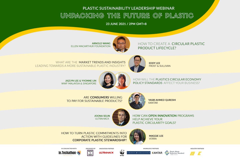 Plastic Sustainability Leadership Webinar: Unpacking the Future of Plastic