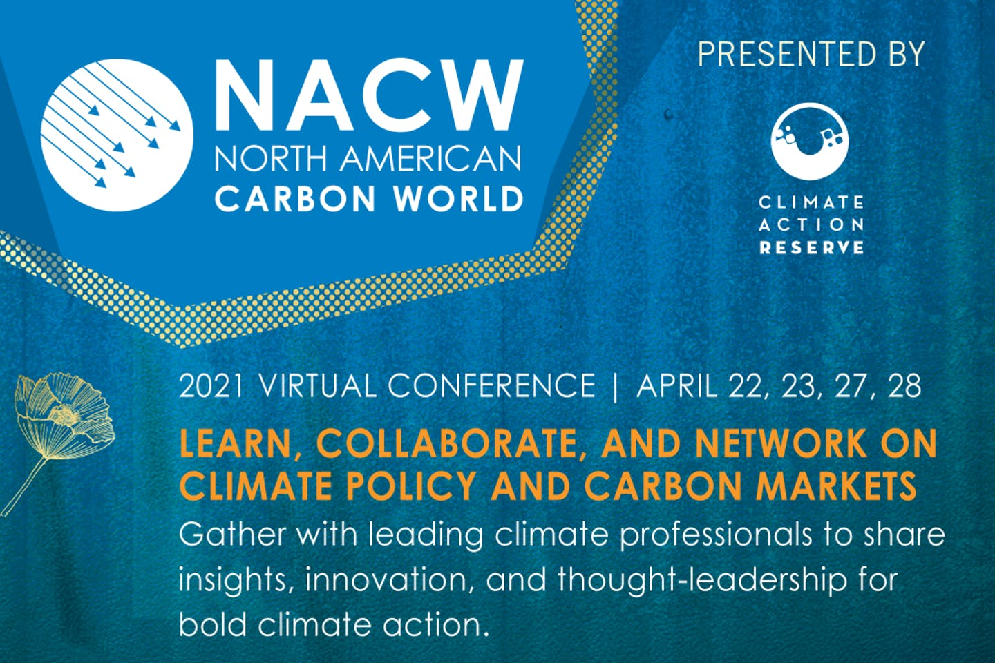 North American Carbon World (NACW) 2021 Virtual Conference