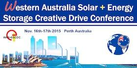 Western Australia Solar + Energy Storage Creative Drive Conference 2015