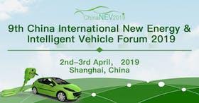 9th China International New Energy & Intelligent Vehicle Forum 2019
