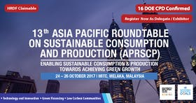 13th Asia Pacific Roundtable on Sustainable Consumption and Production