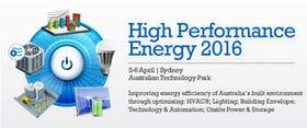 High Performance Energy 2016