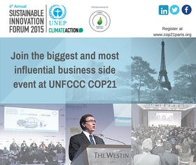 The Sustainable Innovation Forum (SIF15)