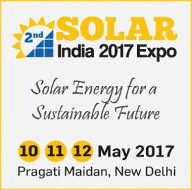 2nd Solar India 2017 Exhibition and Conference