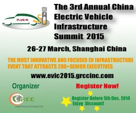 The 3rd Annual China Electric Vehicle Infrastructure Summit 2015