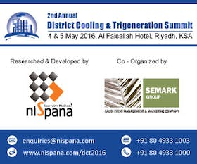 2nd Annual District Cooling & Trigeneration Summit 2016