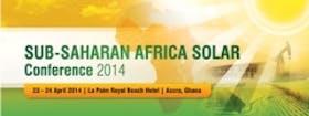 Sub-Saharan Africa Solar Energy Conference 2014