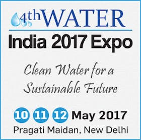 4th Water India 2017 Exhibition and Conference