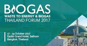 Biogas & Waste to Energy Thailand Forum 2017