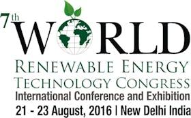 7th World Renewable Energy Technology Congress-2016