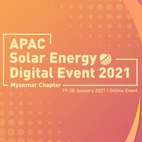 APAC Solar Energy Digital Event 2021 Myanmar Chapter