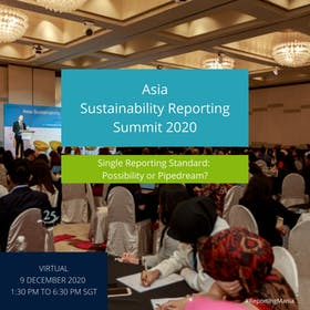 Asia Sustainability Reporting Summit 2020