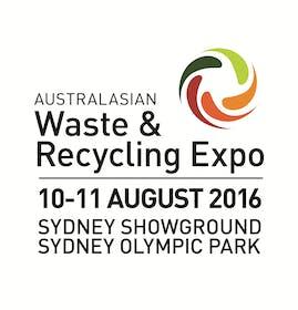 Australasian Waste & Recycling Expo (AWRE) 2016