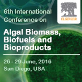 The 6th International Conference on Algal Biomass, Biofuels and Bioproducts