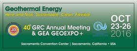 GRC Annual Meeting & GEA Geothermal Energy Expo