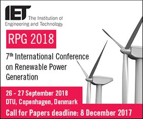 RPG 2018 – Renewable Power Generation