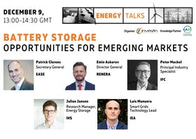 Energy talks | Battery storage opportunities for emerging markets