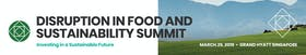 Disruption in Food and Sustainability Summit