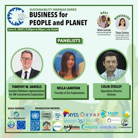 Sustainability Webinar Series: Business for People and Planet