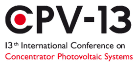 CPV-13, the 13th International Conference on Concentrator Photovoltaics