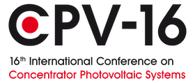 CPV-16, the 16th International Conference on Concentrator Photovoltaics