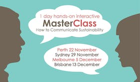 How to Communicate Sustainability MasterClass