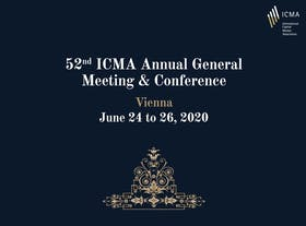 ICMA Annual General Meeting and Conference 2020