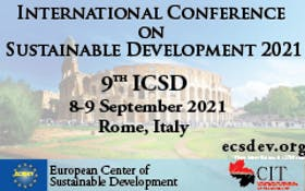ICSD 2021 : 9th International conference on sustainable development