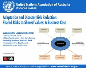 Adaptation and Disaster Risk Reduction Seminar