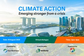 Climate action: Emerging stronger from a crisis