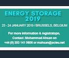 Energy Storage 2019