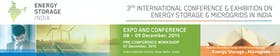 3rd International Conference and Exhibition on Energy Storage and Microgrids in India