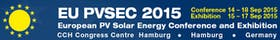 31st European Photovoltaic Conference and Exhibition (EUPVSEC 2015)