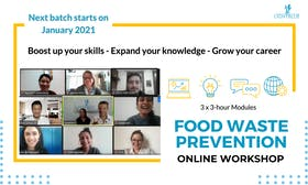 Full course on food waste prevention