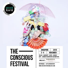Conscious Festival Singapore by Green Is The New Black