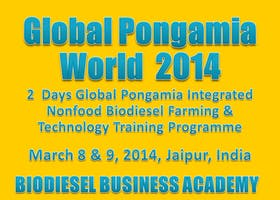 2 Days Global Pongamia Integrated Nonfood Biodiesel Farming & Technology Training Programme