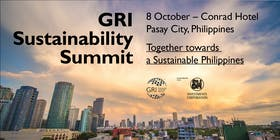 GRI Sustainability Summit: Together towards a Sustainable Philippines