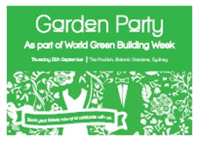 The Garden Party, World Green Building Week