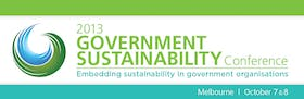 2013 Government Sustainability Conference