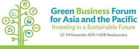 ADB Green Business Forum for Asia and the Pacific 2016